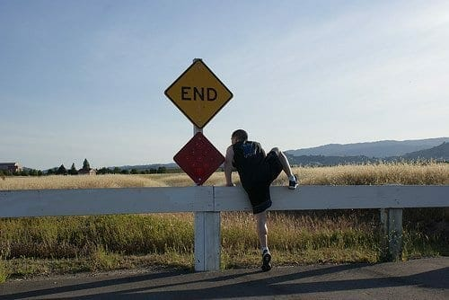 The road ends....Uhh no it doesn't
