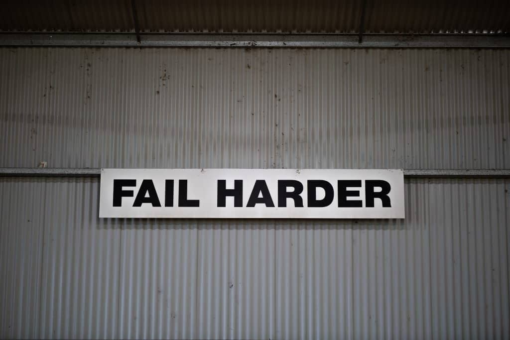 How to Be Better at Failure
